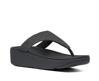 Fitflop Imogen Basket Weave Toe-Thongs Raffia