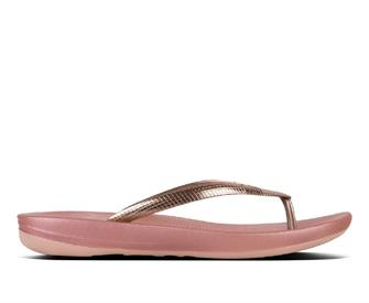 Fitflop Iqushion™ Ergonomic Flip-Flops - Mirror Metallics