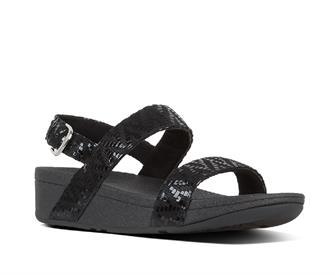 Fitflop Lottie™ Chevron-Suede Sandal