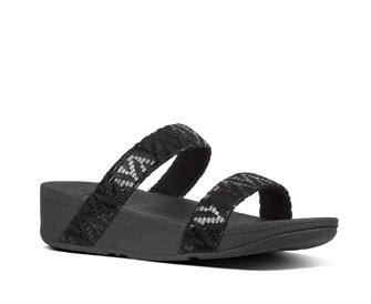 Fitflop Lottie™ Chevron-Suede Slide