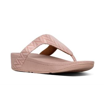 Fitflop Lottie™ Chevron-Suede Toe Post
