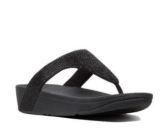 Fitflop Lottie™ Shimmercrystal Toe Post