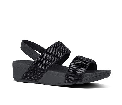 Fitflop Mina Crystal Back-Strap Sandals Microfibre