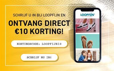Schrijf in bij Loopfijn en ontvang direct 10 euro Korting!